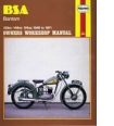Haynes Manual for BSA Bantam